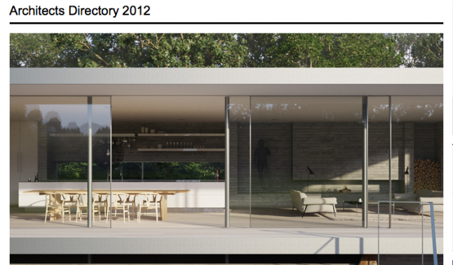 Wallpaper* Architects Directory 2012